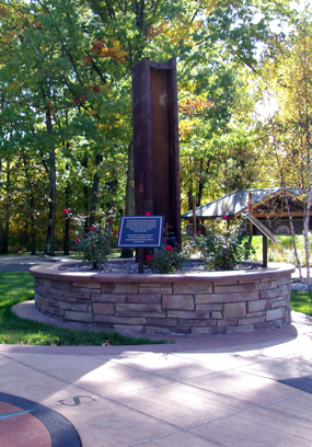 New Buffalo Township  9/11 Memorial Garden